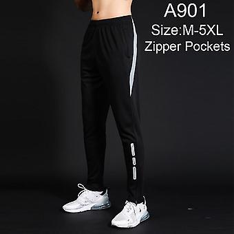 Męskie spodnie do biegania, Piłka nożna / piłka nożna Szkolenia Sport Elastyczność Gym