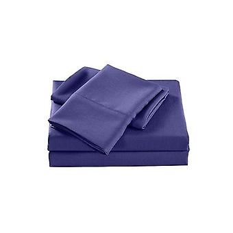 Royal Comfort 2000 Tc Bamboo Cooling Sheet Set Ultra Soft Royal Blue