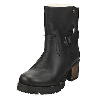 Oak & Hyde Kensington Snug Womens Ankle Boots in Black