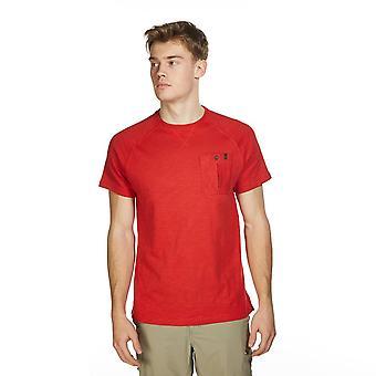 New Brasher Men's Travel Everyday Wear Hopegill Tee Red