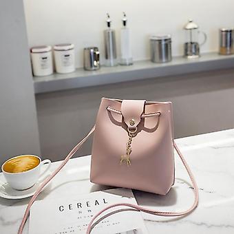 Vintage Tassel Crossbody Bucket Luxury Woman Bag