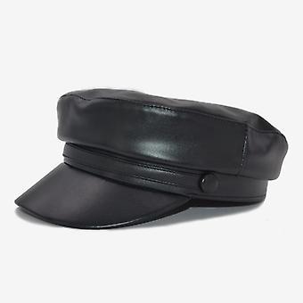 الجلود العسكرية قبعة العسكرية والمرأة أزياء، أنثى Casquette القبعات
