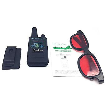 Quelima M003 5MHz la 8000MHz Handheld Wireless Multi Function Signal Anti Monitor Tracking Detector