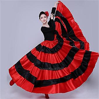 Vestido flamenco fantasia de dança