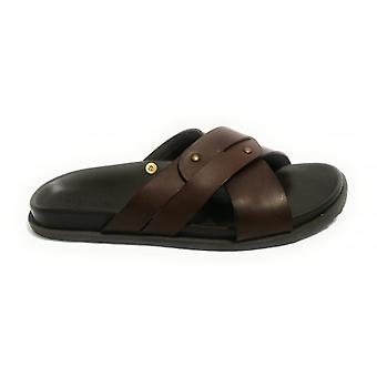 Men's Elite Ciabatta Crossband Shoes Cow Skin Col. Moro Head Us18el21