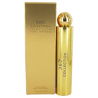 Perry Ellis 360 kokoelman Eau De Parfum Spray Perry Ellis 3,4 oz Eau De Parfum Spray