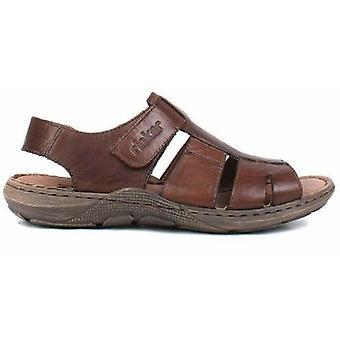Rieker nougat brown sandals mens brown 002