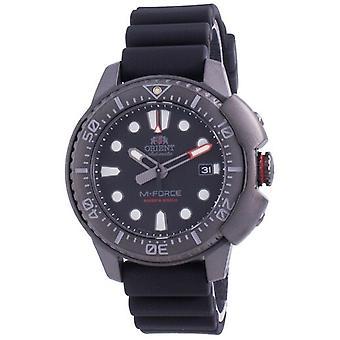 Orient M-force Automatic Diver's Ra-ac0l03b00b 200m Men's Watch