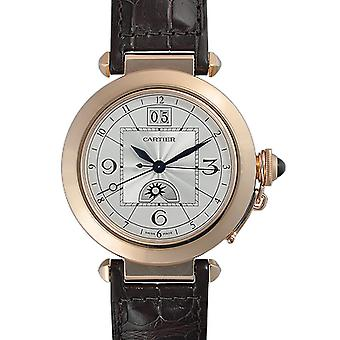 Cartier Pasha 18kt Rose Gold Case Men's Watch W3109151