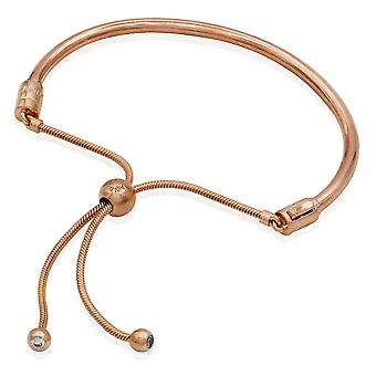 PANDORA Sliding Bangle Bracelet - Pandora Rose - 6.7