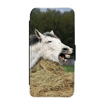 يضحك الحصان سامسونج غالاكسي A32 5G محفظة القضية