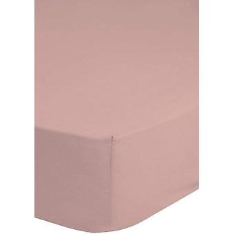 stretched bed cloth 100 x 200 cotton/satin pink