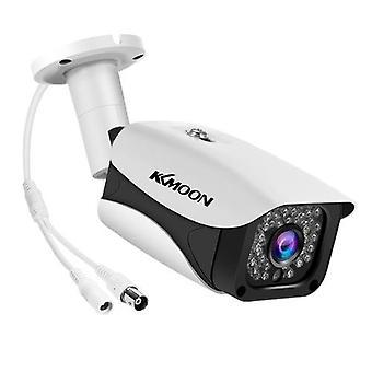 2MP 1080P Full HD Security Camera Outdoor/Indoor (Hybrid 4-in-1 CVI/TVI/AHD/CVBS) Infrared Night Vision Weatherproof Surveillance CCTV Bullet Camera NTSC System