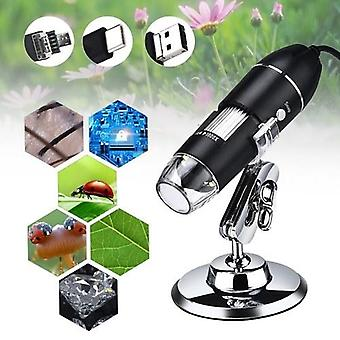 Digital Microscope 3 in 1 Port Type-C 1000x Magnification Portable High Definition USB Digital Magnifier Industry Microscope