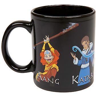Avatar: The Last Airbender Characters Heat Change Ceramic Mug