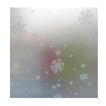 PVC بلوري زجاج النافذة ملصقا مع لاصق
