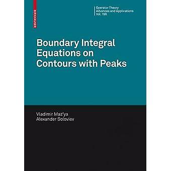 معادلات الحدود المتكاملة على ملامح مع قمم من قبل فلاديمير MazyaAlexander سولوفيف