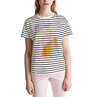 edc by Esprit 020CC1K321 T-Shirt, White (110), XS Woman