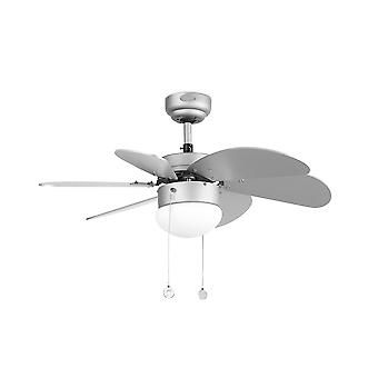"""Ventilatore a soffitto Palao Grey 81cm / 32"""" con luce"""