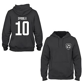 Paulo dybala 10 club style player kids hoodie