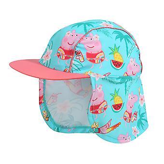 Peppa Pig Girls Tropical Sun Hat