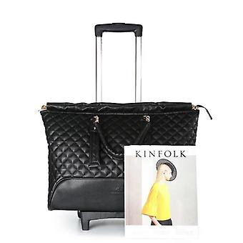 Fashion Travel Suitcase, Women Carry On Trolley
