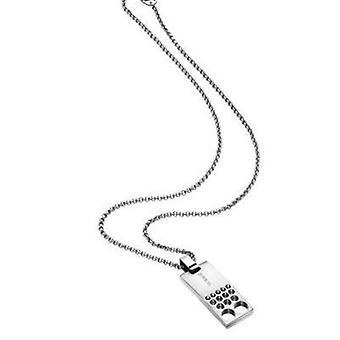 Breil jewels highvoltage collection 47cm necklace tj1413