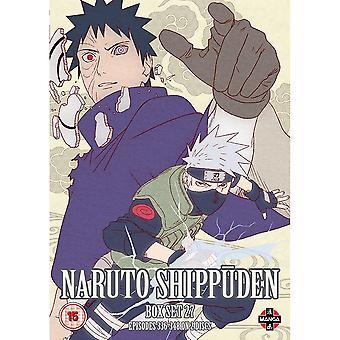 Naruto Shippuden Box 27 (Episodes 336-348) DVD