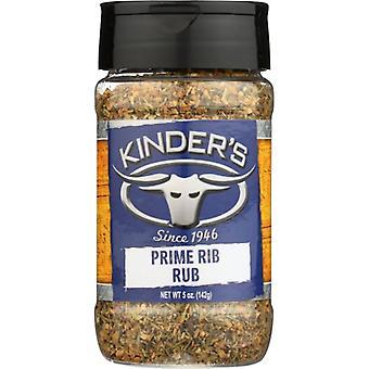 Kinders Rub Prime Rib, Case of 6 X 5 Oz