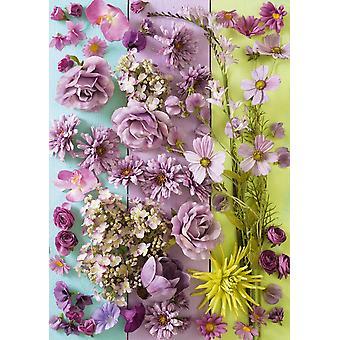 Schmidt Violet Flowers Jigsaw Puzzle (1000 Pieces)