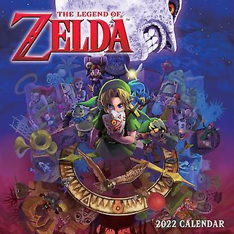 The Legend of Zelda 2022 Wall Calendar by Nintendo