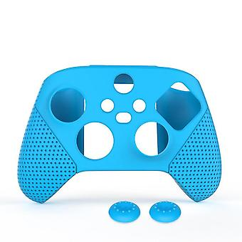 Silicone Protective Cover Case Aniti-slip For For Xbox Series S X With Thumb Grip Caps