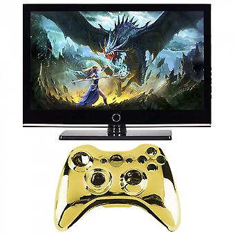 Wireless Controller Shell Case Bumper Thumbsticks Buttons Game For Xbox 360