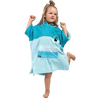 Wave Hawaii Kids Mini Beach Surf Changing Robe Towel Ponichino - Blue