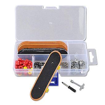 Brinquedo de mesa de tabuleiro de patinação de mini dedo de plástico, skate infantil, fingerboard