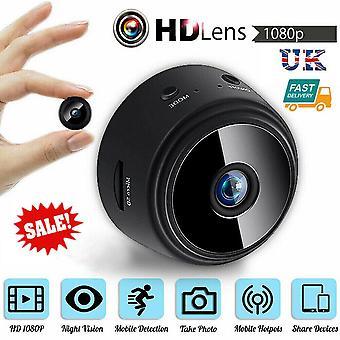 Mini Wireless Wifi Hidden Spy Camera Home Security HD 1080P DVR Night Vision UK