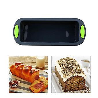 2Pcs/set silicone bread toast baking cake mold form baking cake pans dishes for cake bakeware tray decorating cake baking tool