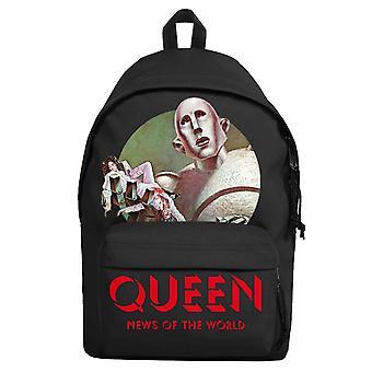 Queen Ryggsekk Bag Nyheter Av World Band Logo Ny Offisiell Svart