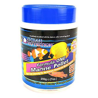 Ocean Nutrition Formula ONE Marine Pellet - Medium - Medium Pellets - 200 Grams