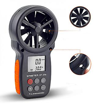 Portable Lcd Anemometer, Suitable For Indoor And Outdoor Wind Speed Detection