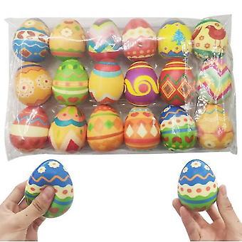 Venalisa Fidget Spielzeug , 18 Packungen Easter Eggs Squishy Toys