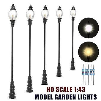 Échelle 10pcs 1:43 Model Garden Light