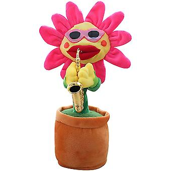 Singing And Dancing Sunflower Toy Soft Plush For Kids