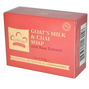 Nubian Goat Milk & Chai Soap 5oz