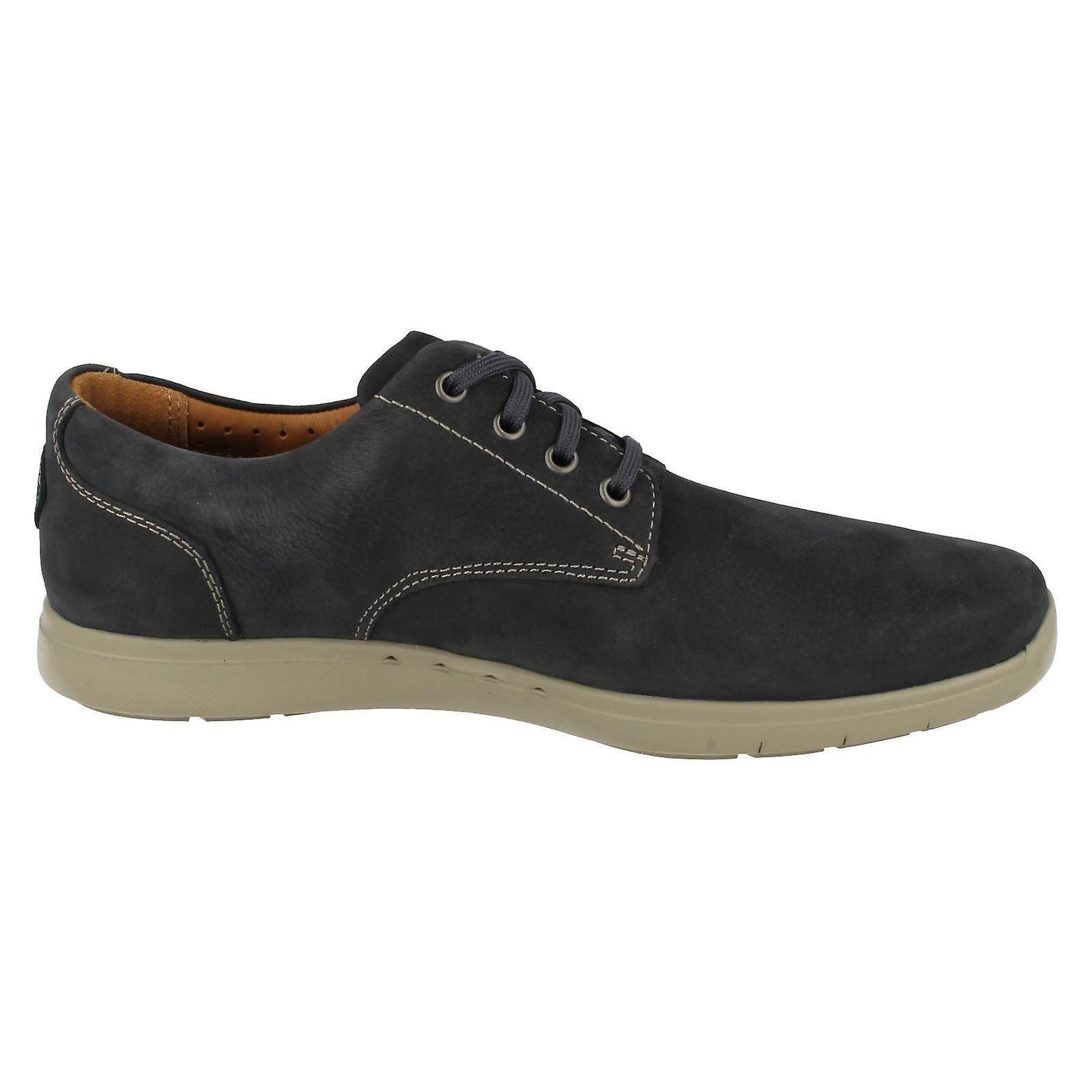 Mens Clarks STRINGATE non strutturati Casual scarpe Unlomac bordo DYrFlM