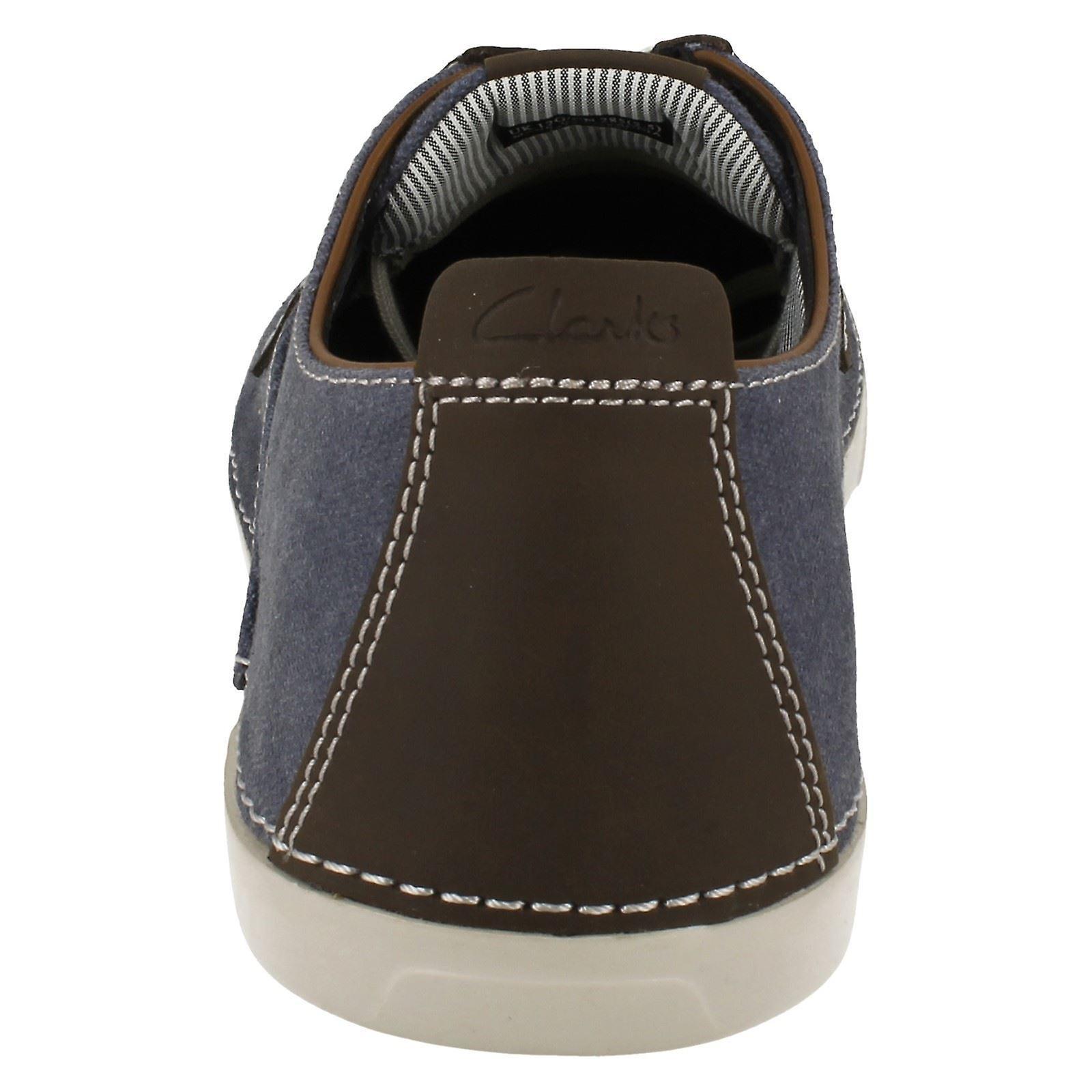 Mens Clarks Casual Shoes Neelix Vibe