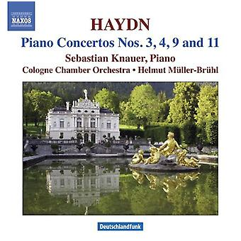 J. Haydn - Haydn: Piano Concertos Nos. 3, 4, 9 & 11 [CD] USA import