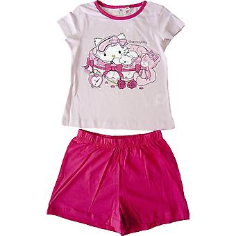 Charmmy Kitty Girls Short Sleeve Pyjama