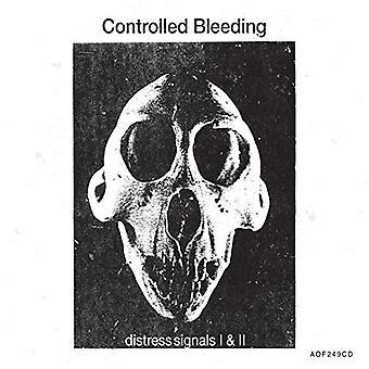 Controlled Bleeding - j'ai & II [CD] USA importer des signaux de détresse