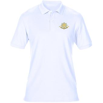 The Worcesershire Regiment Embroidered Logo WW1 - Official British Army Mens Polo Shirt